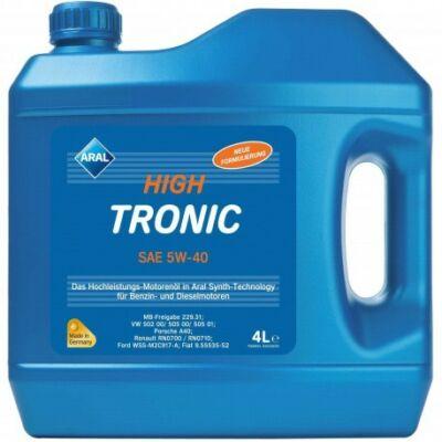 Aral High Tronic 5w40 4L motorolaj