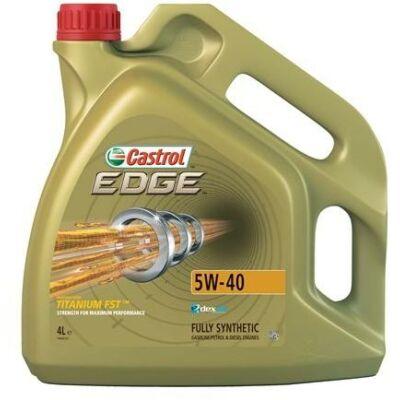 Castrol Edge Titanium FST 5w40 4L motorolaj