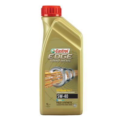 Castrol Edge Turbo Diesel TD Titanium FST 5w40 1L motorolaj