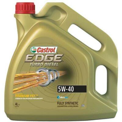 Castrol Edge Turbo Diesel TD Titanium FST 5w40 4L motorolaj