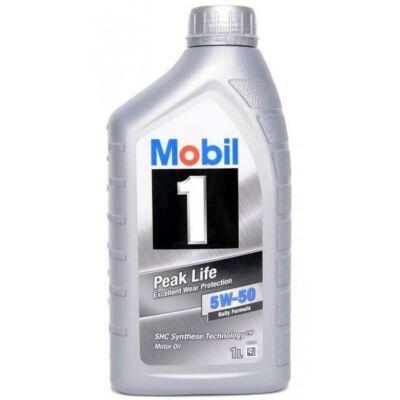 Mobil 1 Peak Life 5w50 1L motorolaj