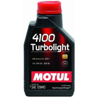 Motul 4100 Turbolight 10w40 1L motorolaj