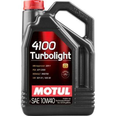 Motul 4100 Turbolight 10w40 5L motorolaj
