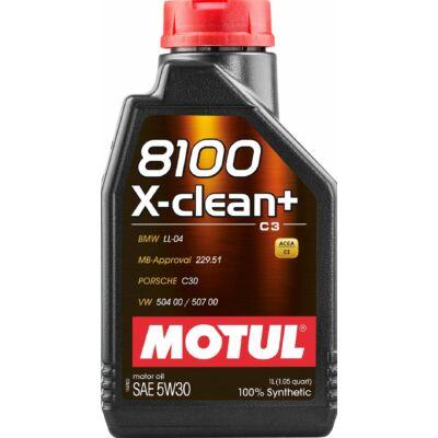 Motul 8100 X-clean+ 5w30 1L motorolaj