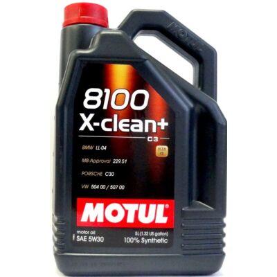 Motul 8100 X-clean+ 5w30 5L motorolaj