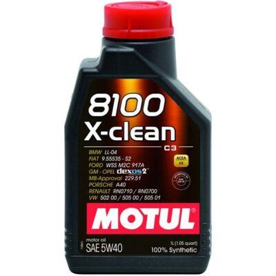 Motul 8100 X-clean 5w40 1L motorolaj