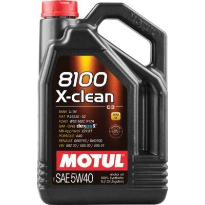 Motul 8100 X-clean 5w40 5L motorolaj