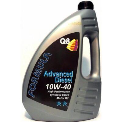 Q8 Formula Advanced Diesel 10w40 4L motorolaj
