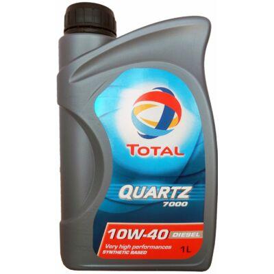 Total Quartz 7000 Diesel 10w40 1L motorolaj