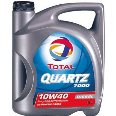 Total Quartz 7000 Diesel 10w40 5L motorolaj